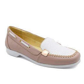 3206803da6 Dockside Feminino 508 Rosa 2 Branco Donna Comfort