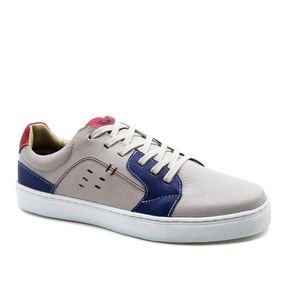 181886e04fa Sapatênis Masculino 4046 em Couro Floater Off White Royal Framboesa Doctor  Shoes