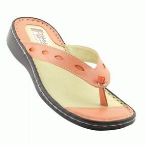 chinelo-feminino-226-comfort-papaialaranja-em-couro-legitimo-donna-comfort-313613971-700x700