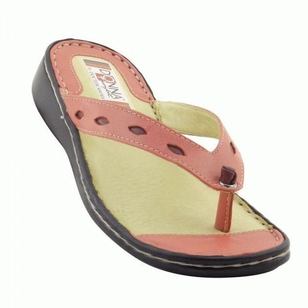 chinelo-feminino-226-comfort-coralmorango-em-couro-legitimo-donna-comfort-313613972-700x700