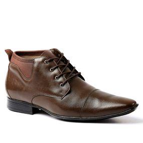 8ae02cdf2b Bota Masculina 7970 em Couro Jade Brown Techprene Marrom Doctor Shoes