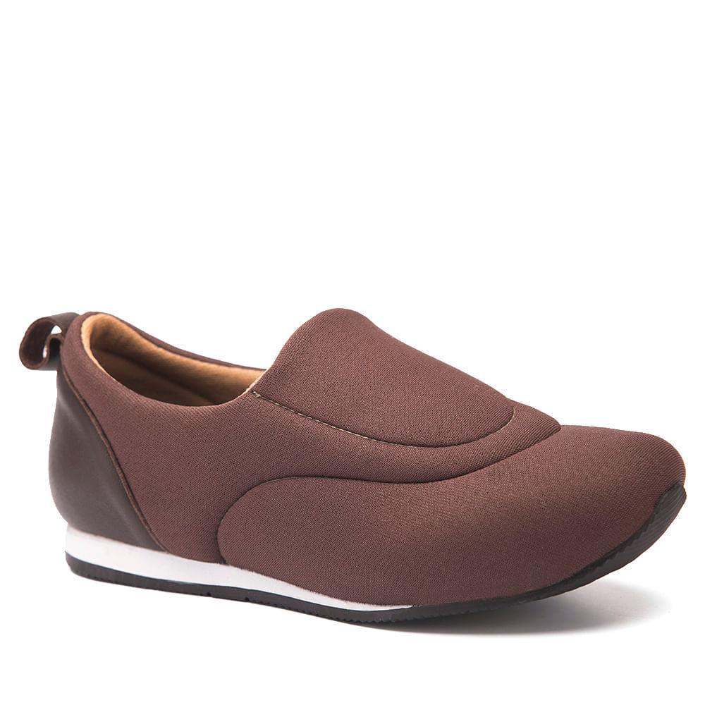 2cf48ca538 Sapatênis Feminino 607 em Techprene Café Doctor Shoes - Doctor Shoes