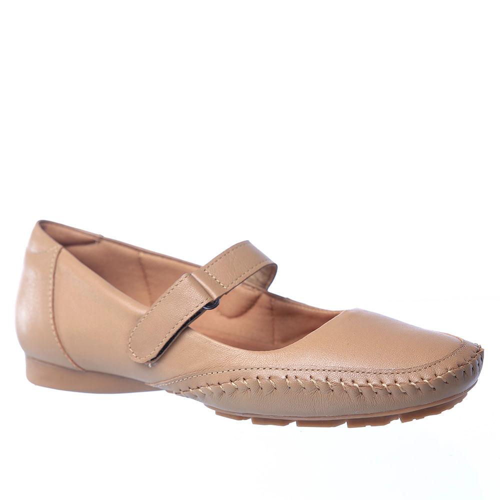 7726066e4 Sapato Feminino 2779 em Couro Amendoa Doctor Shoes. Ref.: 2779-AM. 1