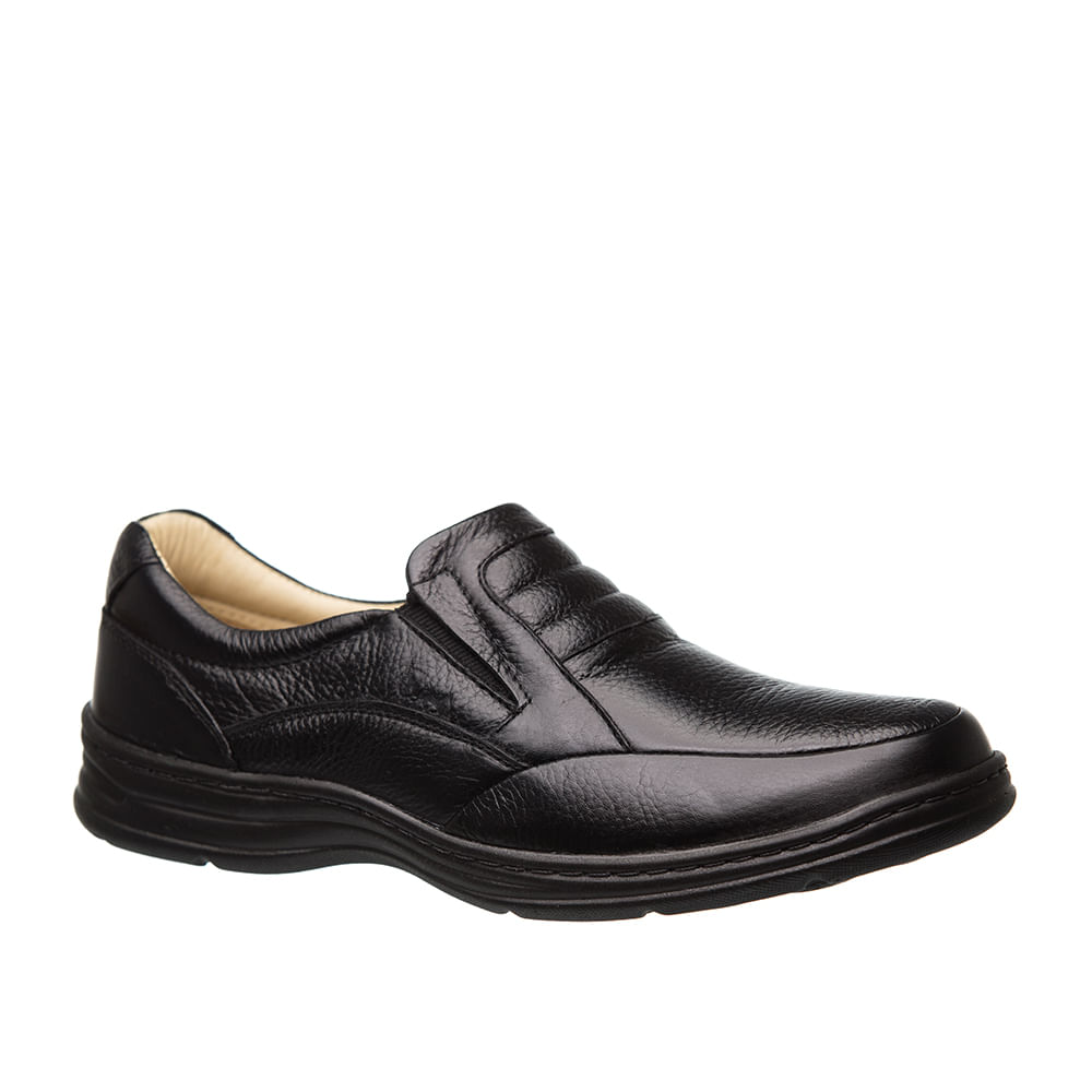 a7ec4b2ce Sapato Masculino 972901 em Couro Floater Preto Doctor Shoes. Ref.:  972901-PTO. 2