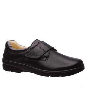 bd28422ed3 Sapato Masculino Esporão 3051 em Couro Floater Preto Doctor Shoes ...