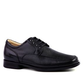 c27789e2e Sapato Masculino Social 549203 Anti Impacto em Couro Floater Preto Doctor  Shoes