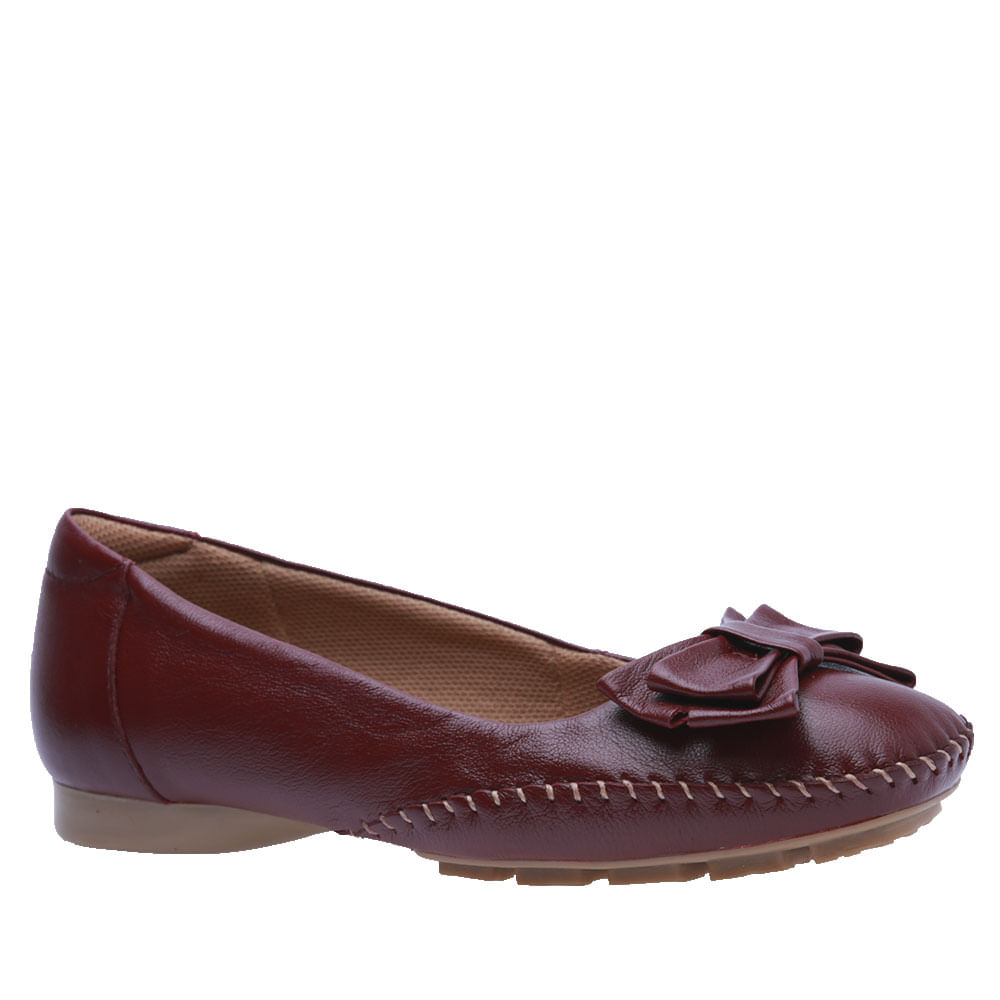 963aa2236a Sapato Feminino em Couro Amora 2778 Doctor Shoes - Doctor Shoes