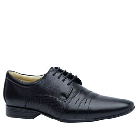 b99d42f645 Sapato Social Masculino 486602 em Couro Floater Mouro Doctor Shoes ...