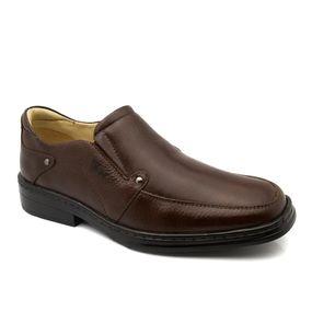 1cc7513a4f Sapato Masculino 910 em Couro Floater Café Doctor Shoes
