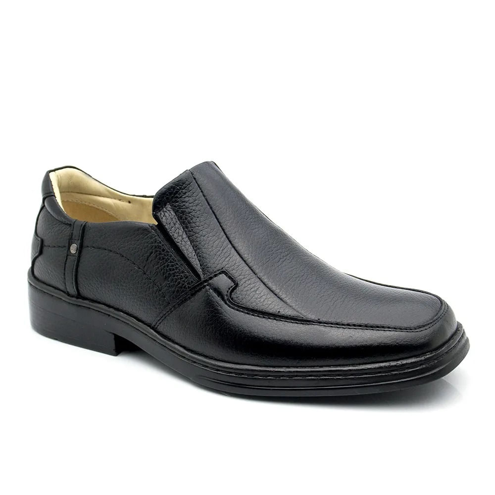 0556d70f85 Sapato Masculino Magnético 912 Floater Preto Doctor Shoes - Doctor Shoes