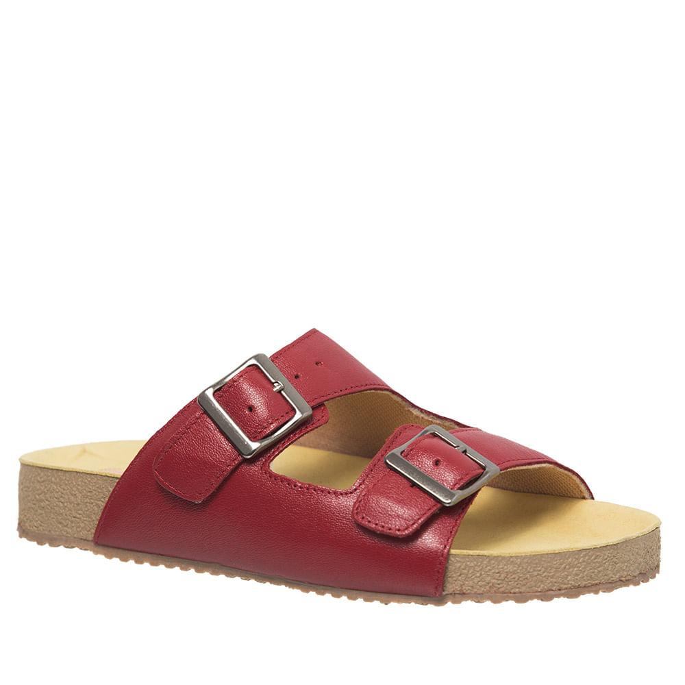 99ce68641 Sandália Feminina Birks 214 em Couro Framboesa Doctor Shoes - Doctor ...