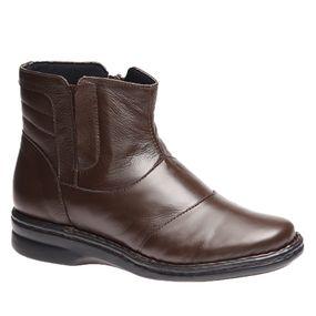 fbd70bc882 Bota Feminina 372 em Couro Preta Doctor Shoes - Doctor Shoes