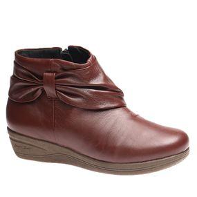 e2f1af4ab Bota Feminina em Couro Roma Jambo 158 Doctor Shoes