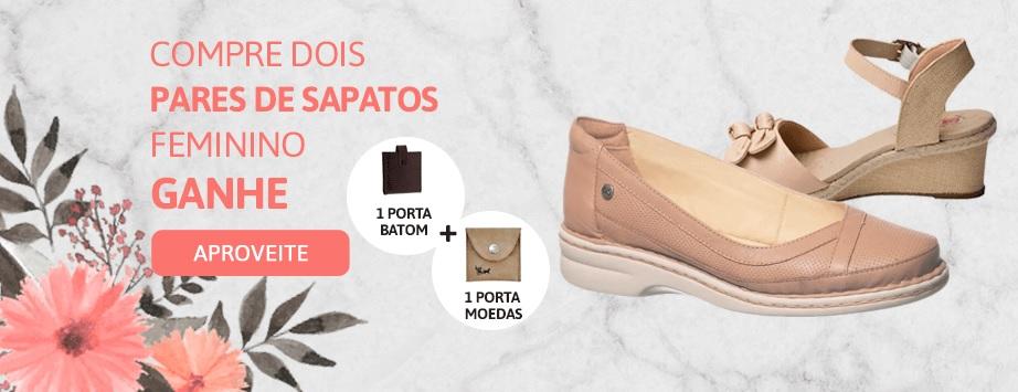 Promoção setembro compre 2 pares de sapato e ganhe brindes - Feminino 2