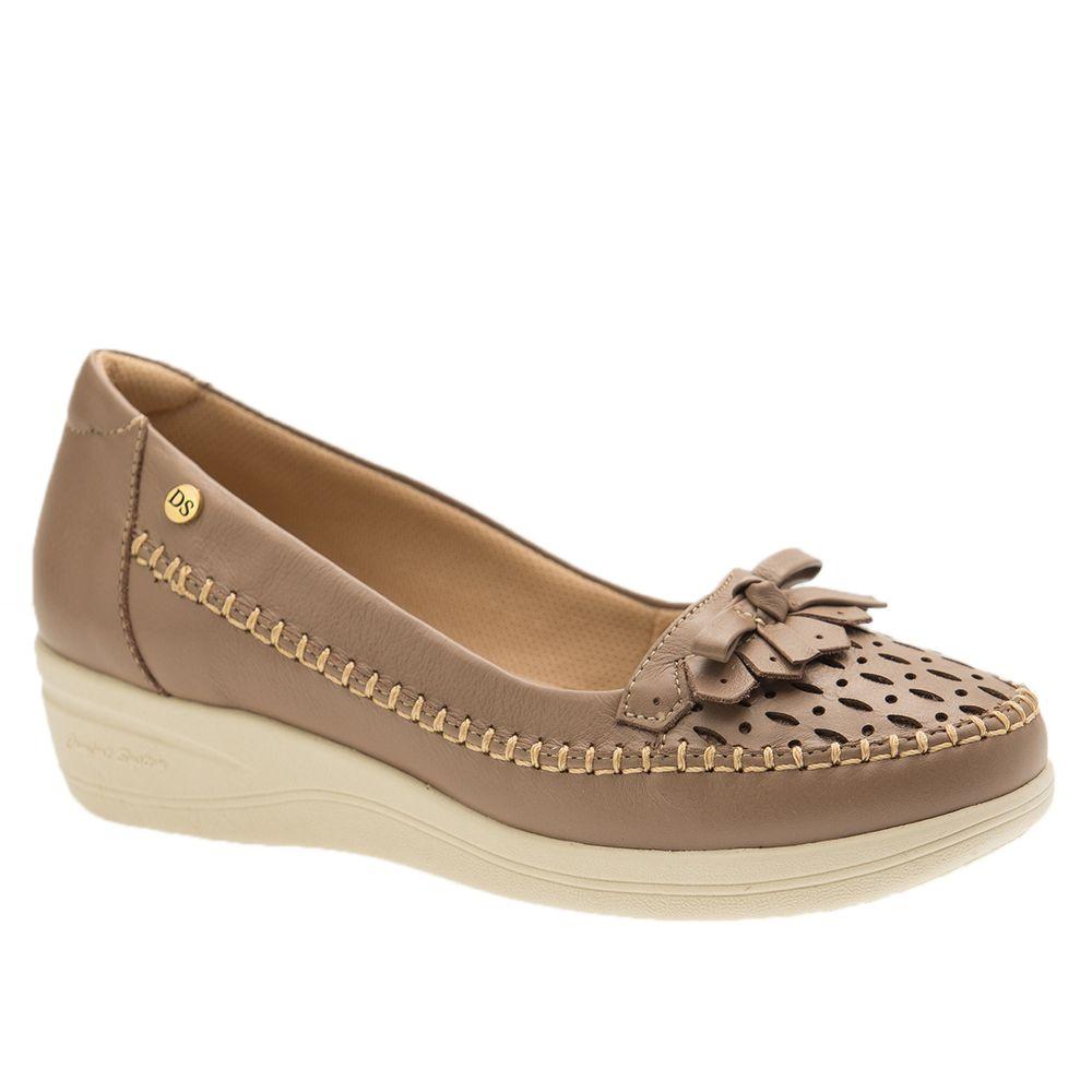 Sapato-Feminino-Anabela-em-Couro-Roma-Fendi-7801-Doctor-Shoes-Bege-34