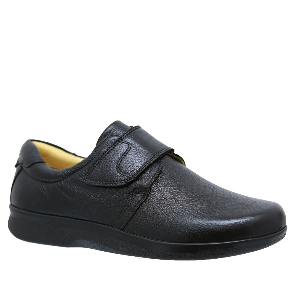 Sapato-Casual-Masculino-3052-Comfort-Doctor-Shoes-Floater-Preto-Preto-37