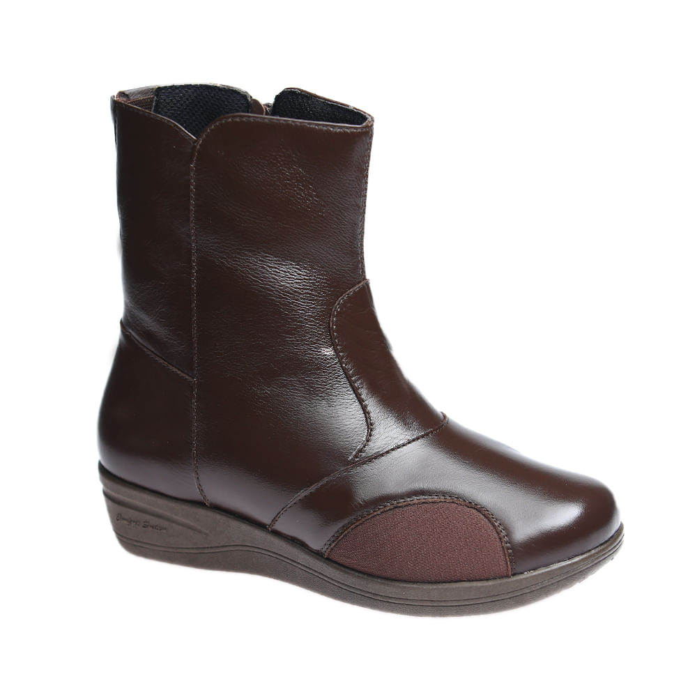 Bota-Feminina-Joanete-em-Couro-Roma-Cafe-Techprene-Cafe-210--Doctor-Shoes-Cafe-35