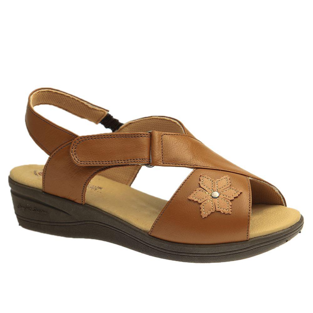 Sandalia-Feminina-Anabela-7998-em-Couro-Roma-Canela-Baunilha-Doctor-Shoes-Marrom-34