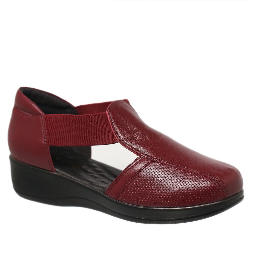 Sapato-Feminino-Diabetico-em-Couro-Amora-7994-Doctor-Shoes-Vermelho-40