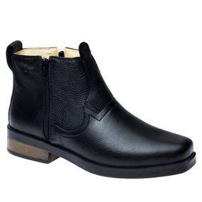 Botina--Masculina--Urbana-Gel-Anatomico-em-Couro-Preto--Floater-8823--Doctor-Shoes-Preto-40