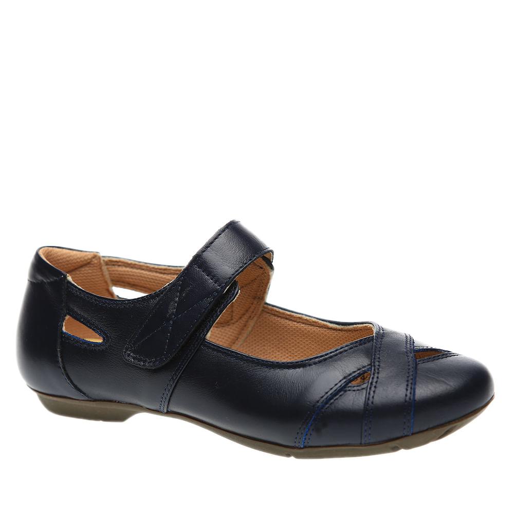 Sapatilha-Feminina-em-Couro-Roma-Marinho-1298--Doctor-Shoes-Marinho-34