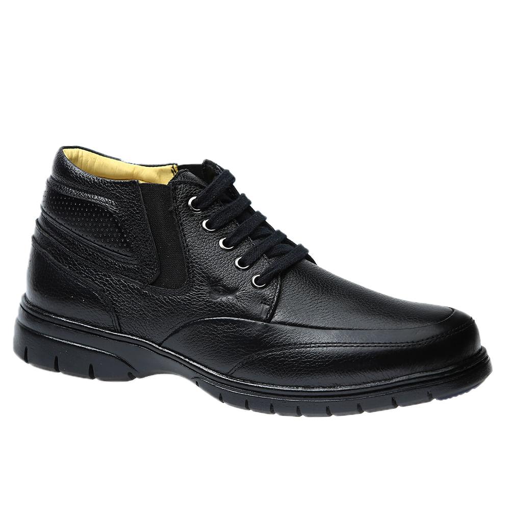 Botinha-Masculina--em-Couro-Floater-Preto-8849-Doctor-Shoes-Preto-37