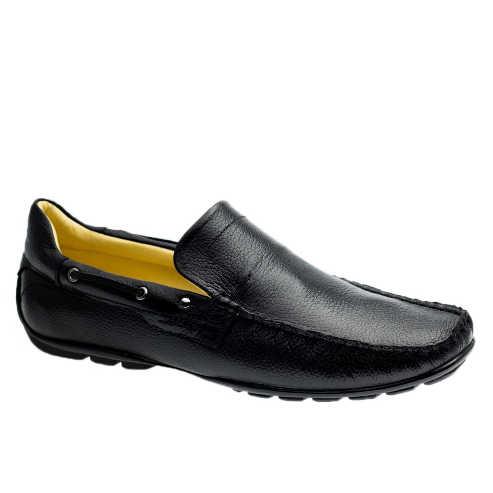 Driver-Masculino-em-Couro-Floater-Preto-1100-Doctor-Shoes-Preto-37