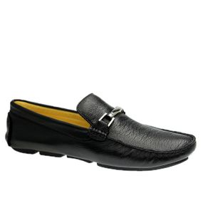 Driver-Masculino-em-Couro-Floater-Preto-806-Doctor-Shoes-Preto-40