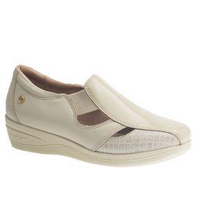Sapato-Feminino-Diabetico-em-Couro-Verniz-Neve-Croco-Off-White-Roma-Off-White-7800-Doctor-Shoes-Creme-34