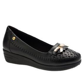 Sapato-Feminino-Anabela-em-Couro-Roma-Preto-7801-Doctor-Shoes-Preto-35