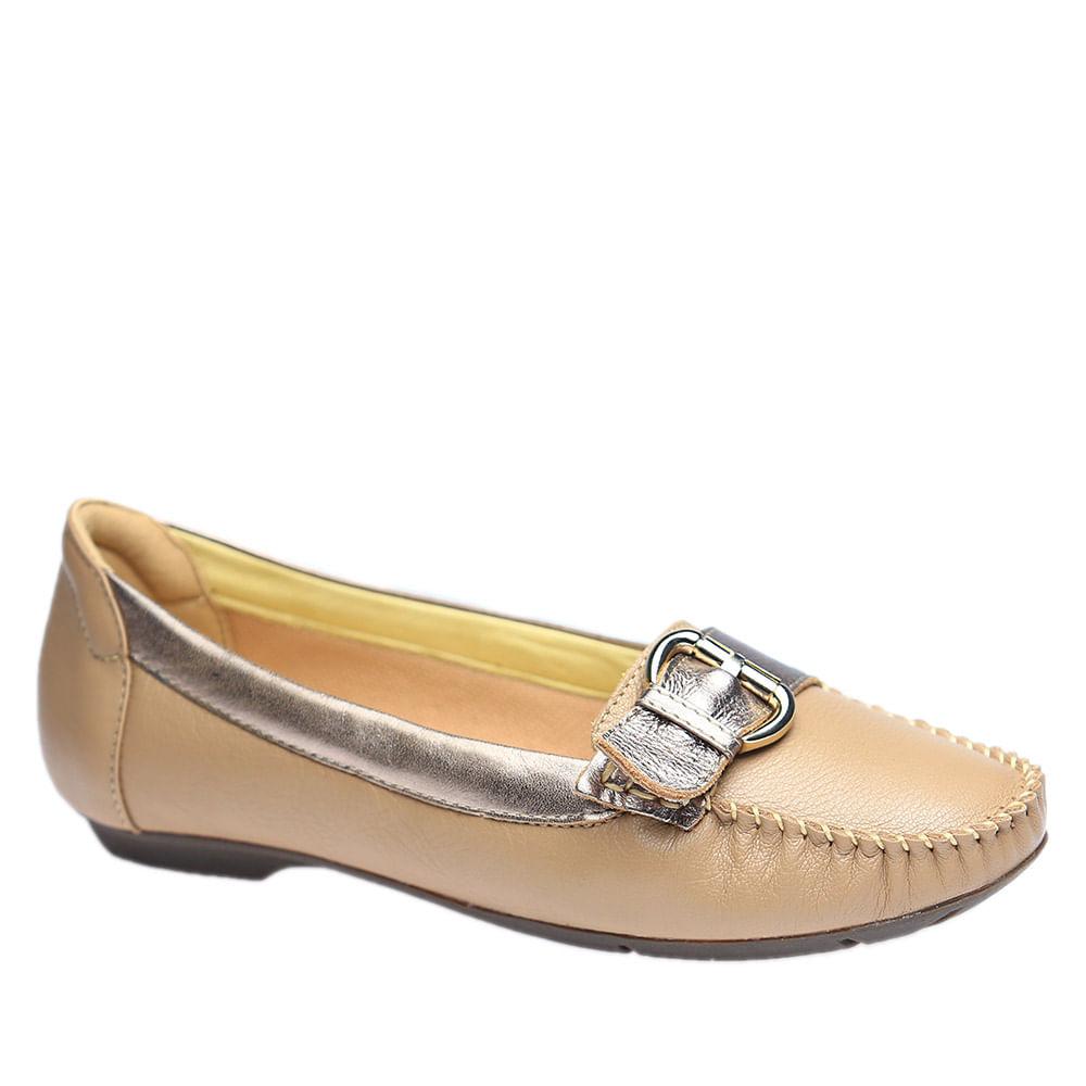 Mocassim-Feminino-em-Couro-Amendoa-Metalic-1303--Doctor-Shoes-Bege-34