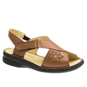 Sandalia-Feminina-em-Couro-Caramelo-293M-Doctor-Shoes-Caramelo-34