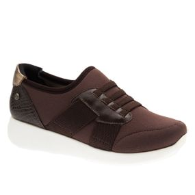 Tenis--Feminino-em-Techprene-Marrom-Roma-Cafe-Serpente-Cafe-Metalic-1400--Doctor-Shoes-Cafe-35