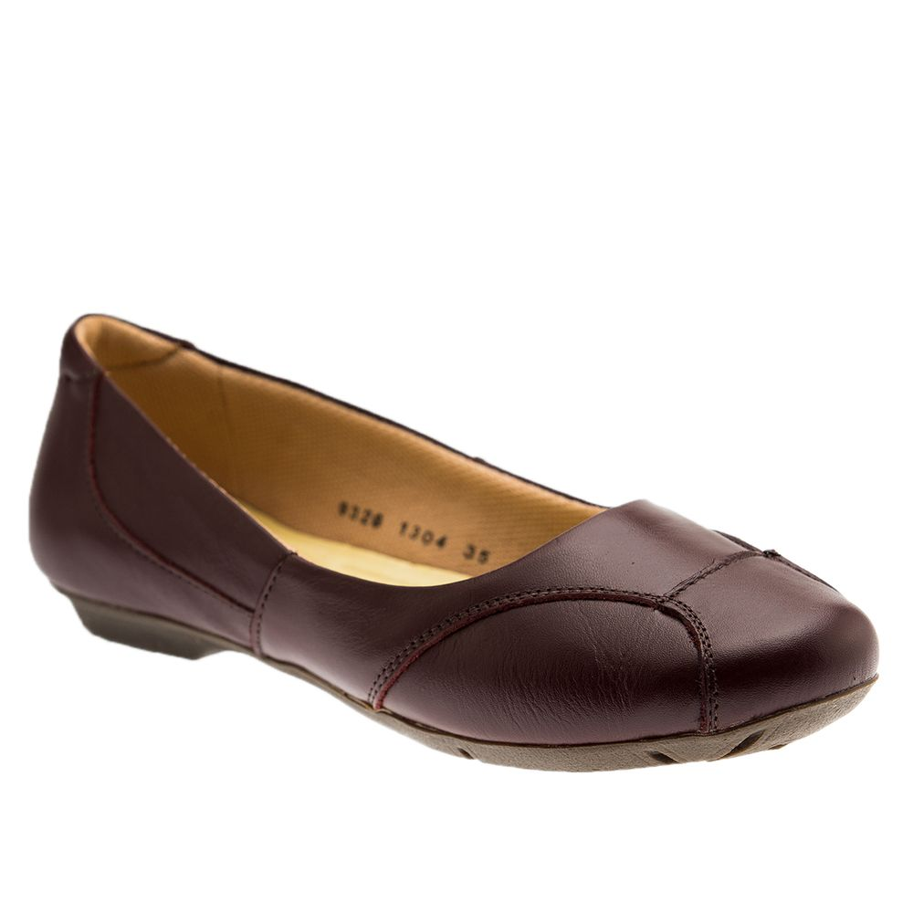 Sapatilha-Feminina-Joanete-1304-em-Couro-Jambo-Techprene-Bege-Doctor-Shoes-Morango-34