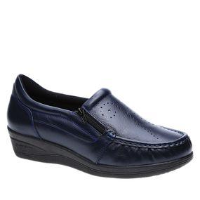 Mocassim-Feminino-200-em-Couro-Petroleo-Doctor-Shoes-Azul-Marinho-38
