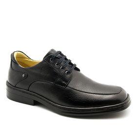Sapato-Masculino-911-em-Couro-Floater-Preto-Doctor-Shoes-Preto-37