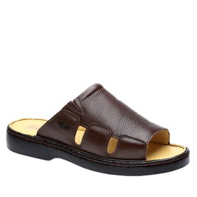 Chinelo-Masculino-322-em-Couro-Floater-Cafe-Doctor-Shoes-38