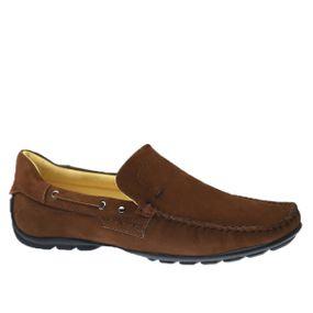 Driver-Masculino-em-Couro-Nobuck-Castanho-1100-Doctor-Shoes-Marrom-37
