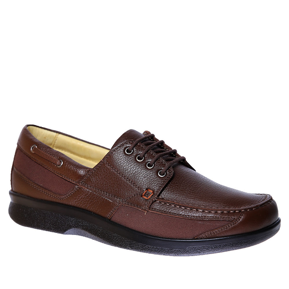 Sapato-Masculino-Diabetico-em-Couro-Cafe-Floater-3057-Doctor-Shoes-Cafe-37