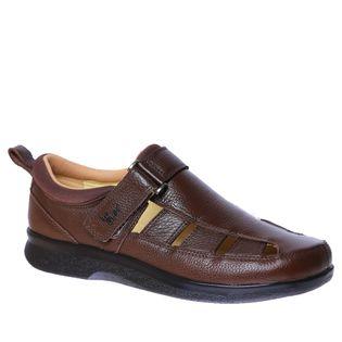 Sandalia-Masculina-Diabetico-em-Couro-Cafe--Floater-3059-Doctor-Shoes-Cafe-37
