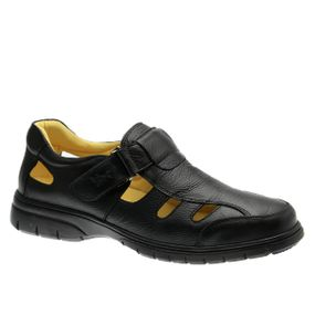 Sandalia-Masculina-em-Couro-Floater-Preto-1802--Doctor-Shoes-Preto-42