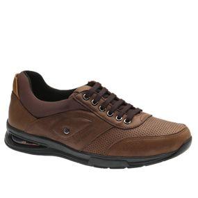 Sapato-Masculino-com-Bolha-de-Ar-System-Anti-Impacto--em-Couro-Graxo-Cafe-2140-Doctor-Shoes-Marrom-41