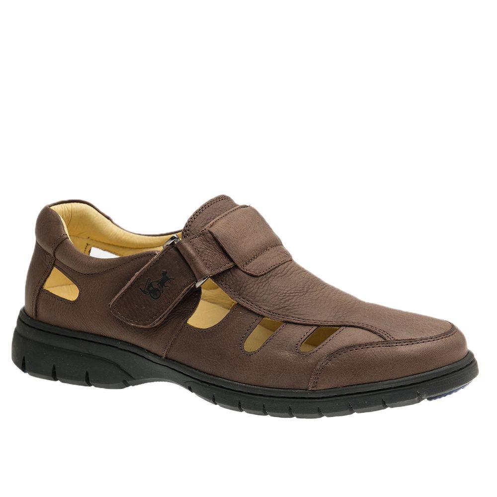 Sandalia-Masculina-em-Couro-Graxo-Cafe-1802-Doctor-Shoes-Cafe-37