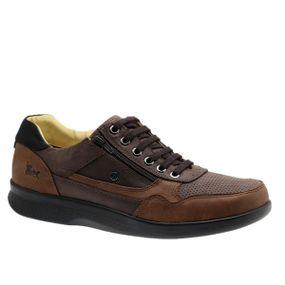 Sapato-Masculino-Esporao-em-Couro-Graxo-Telha--Fossil-Cafe--Graxo-Preto-3063--Doctor-Shoes-Marrom-37