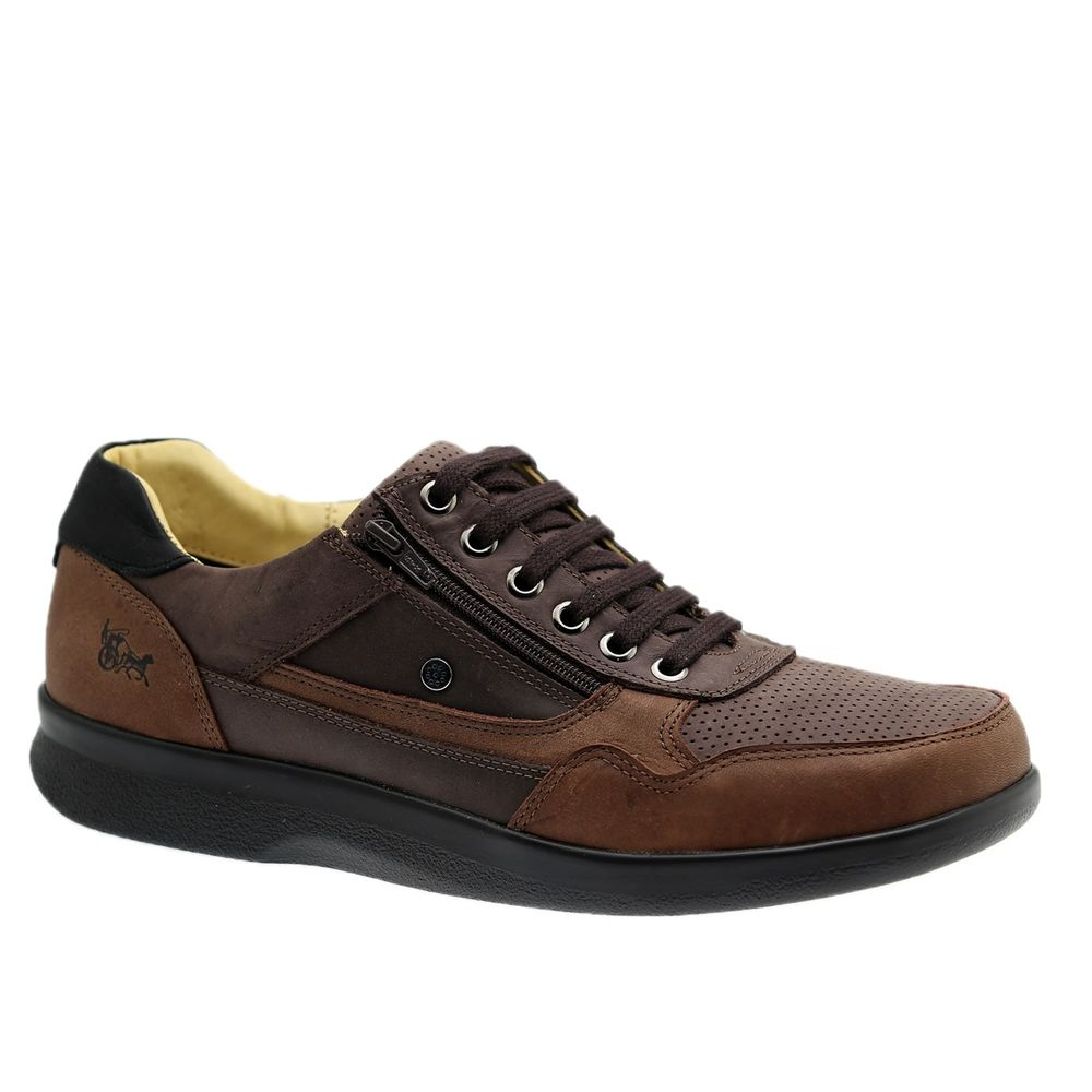 Sapato-Masculino-Esporao-em-Couro-Graxo-Telha--Fossil-Cafe--Graxo-Preto-3063--Doctor-Shoes-Marrom-38