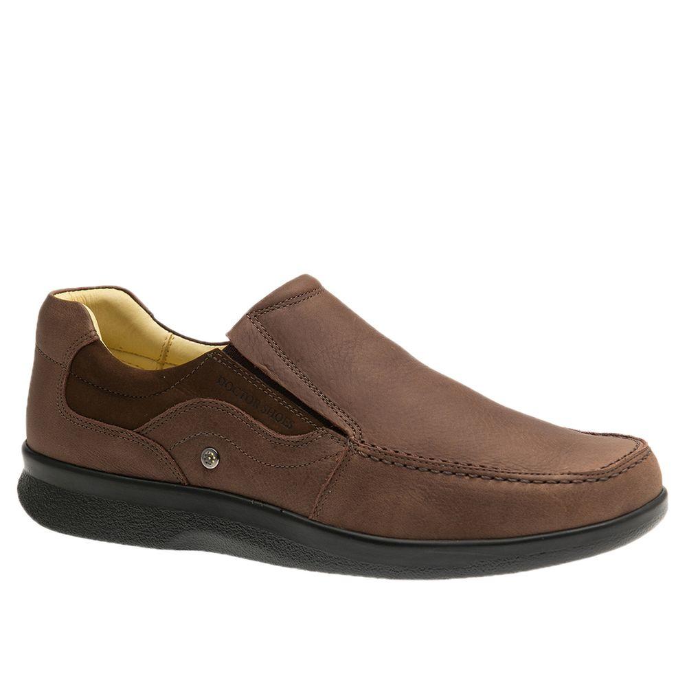 Sapato-Masculino-Esporao-em-Couro-Graxo-Telha-Nobuck-Taupe-3062--Doctor-Shoes-Marrom-37