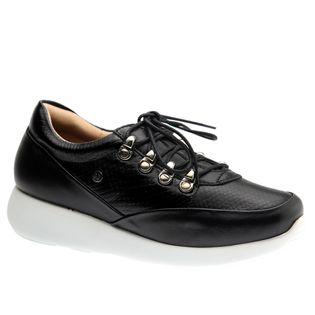 Tenis--Feminino-em-Couro-Roma-Preto-Serpente-Preto-1401-Doctor-Shoes-Preto-34