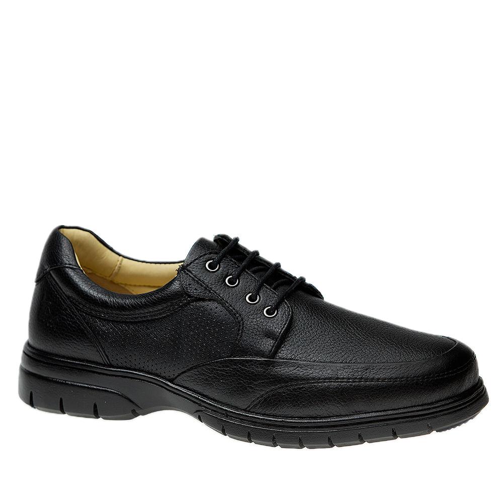 Sapato-Masculino-em-Couro-Floater-Preto-1800-Doctor-Shoes-Preto-37
