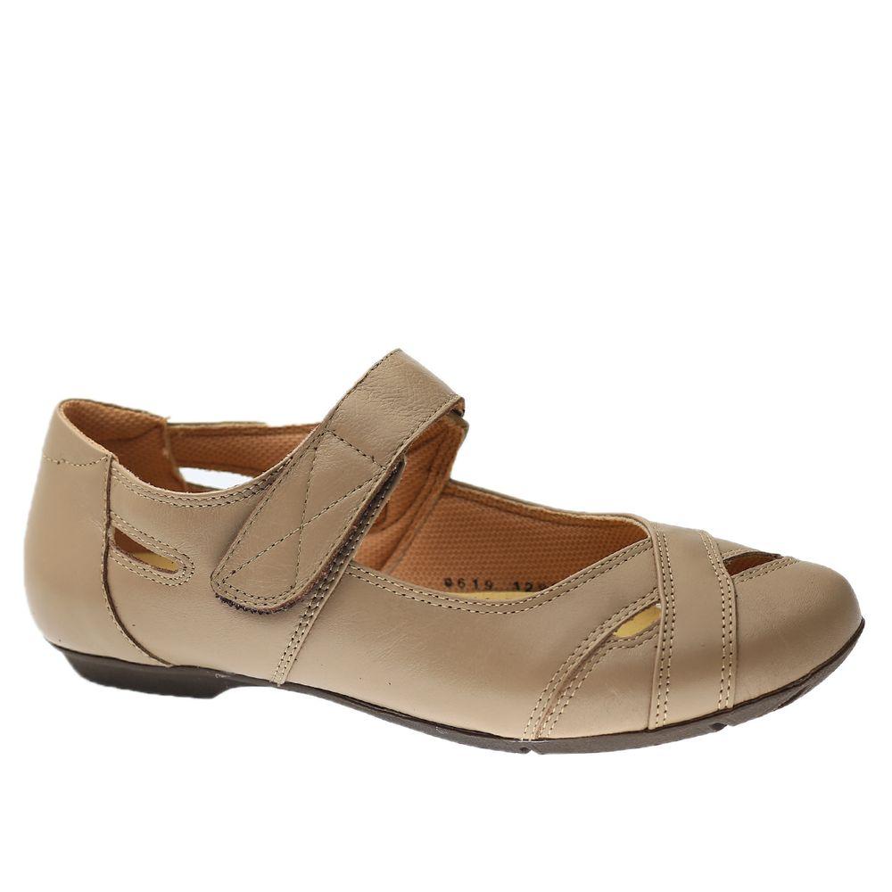 Sapatilha-Feminina-em-Couro-Roma-Amendoa-1298-Doctor-Shoes-Bege-35