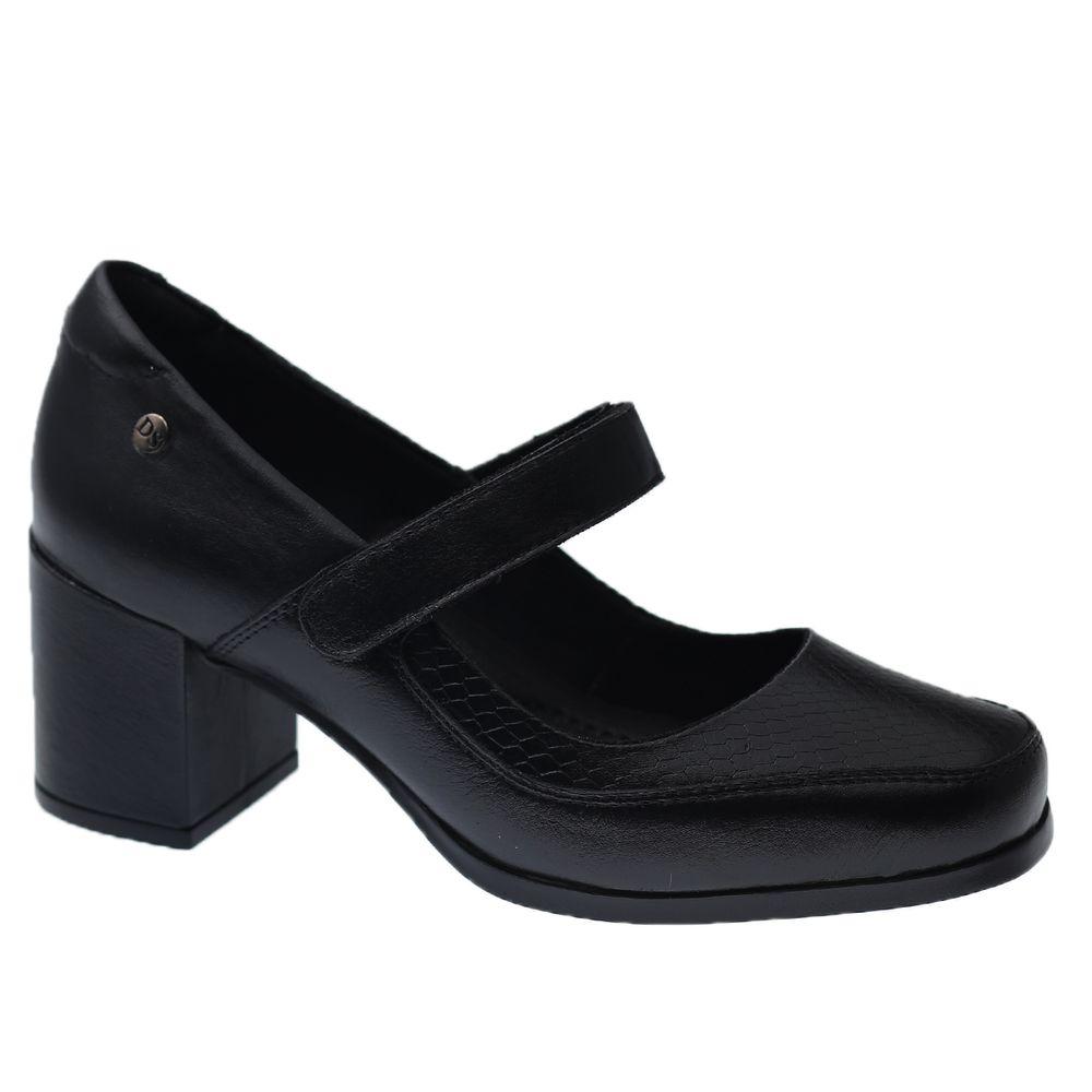 Sapato-Feminino-em-Couro-Roma-Preto-Serpente-Preto-1373-Doctor-Shoes-Preto-34